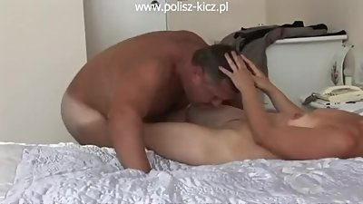 Fat older guy fucking ugly woman