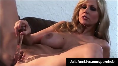 Beautiful Busty Milf Julia Ann Bangs..