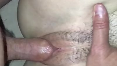 Missionary doggy with my wife POV