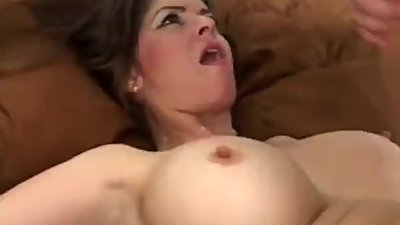 Busty mom June Summers gets fucked..