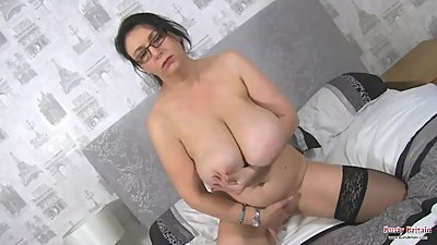 Giant Boobs Sabrina Jade Has Fun With..