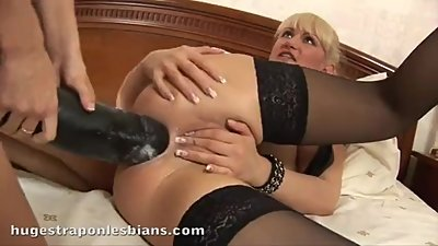 Brutal Dildo strap on love