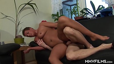 German Mature Amateur Couple Homemade..