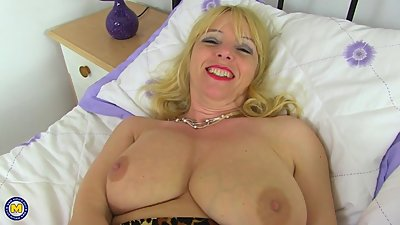 Busty British mom Lucy Gresty with..
