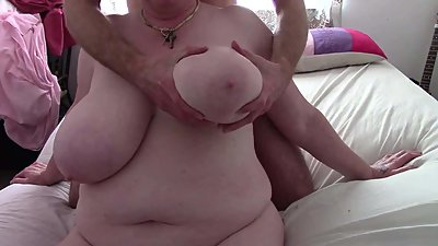English Mature Granny and her Huge..