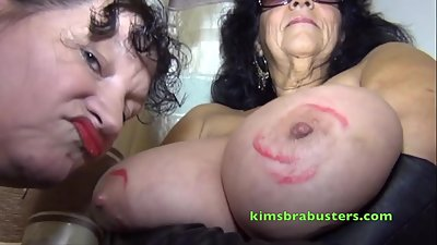 Granny Kim sex with an older woman