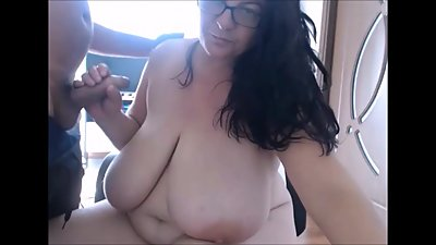 Huge Tits Mature On Cam