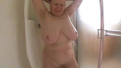 Amazing tits on 62+ GILF
