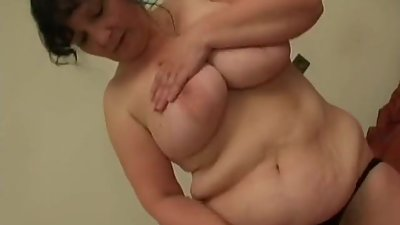 Nice chubby mature hairy pussy and big..
