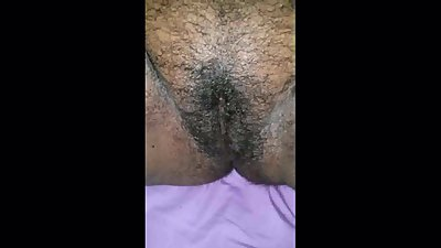 Mature Black Hairy pussy