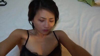 Chinese prostitute in stockings fucked..