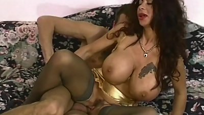 Brunette MILF With Gigantically Gifted..