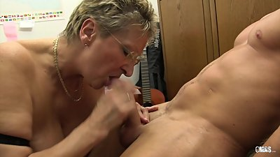 XXX OMAS - Dirty Germany granny takes..