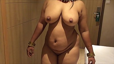 Busty Indian Brown Curvy With Big..