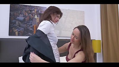 Two Mature Women Make Love
