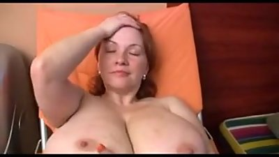 Big boobs solo