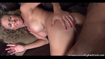 Mature amateur sucks and rides the..